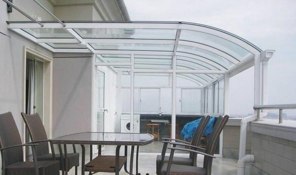 长沙阳光房工程的顶棚设计及材质要求