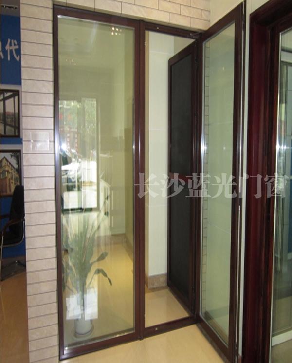 长沙蓝光100A系列平开门       长沙推拉门窗厂家