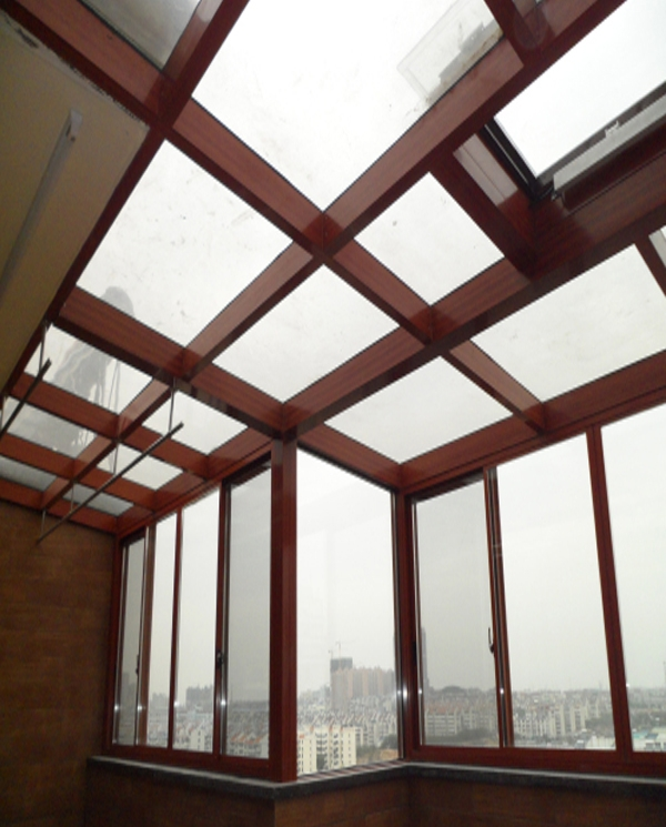 新电园楼顶阳光房               长沙蓝光品牌门窗厂