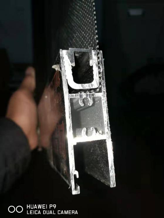 82系列推拉金钢防护一体窗